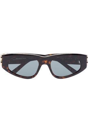 Balenciaga Eyewear Women Sunglasses - Tortoiseshell cat eye sunglasses