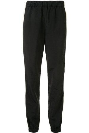 Kenzo Women Joggers - Side-zip stripe trackpants