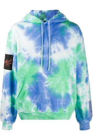McQ Men Hoodies - Tie-dye cotton hoodie