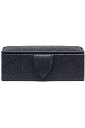 SMYTHSON Men Cufflinks - Panama Mini Cufflink Box