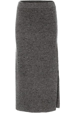 Altuzarra High-rise wool-blend skirt