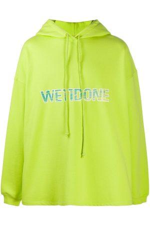 We11 Done Men Hoodies - Logo print hoodie