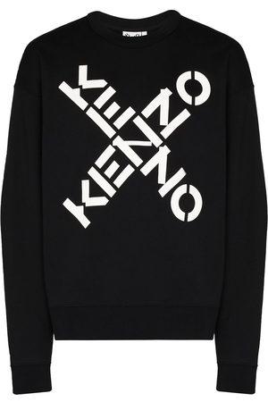 Kenzo Logo-print cotton sweatshirt