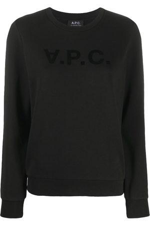 A.P.C Women Short Sleeve - Logo print T-shirt