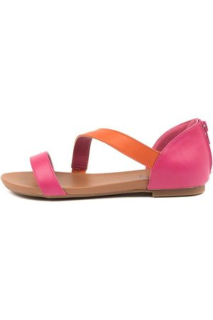 I LOVE BILLY Sarran Fuchsia Sandals Womens Shoes Casual Sandals Flat Sandals