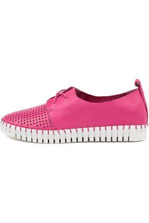 Django & Juliette Huston Fuchsia Sole Sneakers Womens Shoes Casual Casual Sneakers