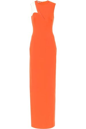 Stella McCartney Cut-out cady gown