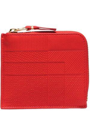 Comme des Garçons Intersection half-zip leather wallet