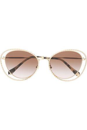 Miu Miu Women Sunglasses - La Mondaine cat eye-frame sunglasses