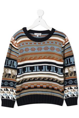 Lanvin Fairisle knit jumper