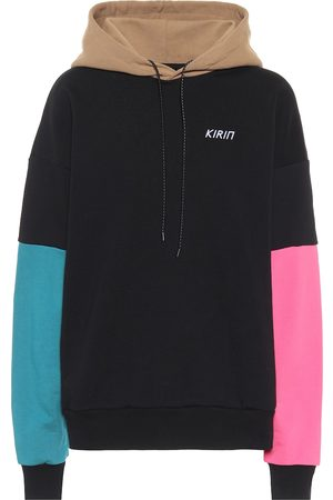 Kirin Colorblocked cotton hoodie