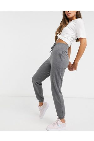 ASOS Basic jogger with tie-Black