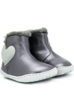 Camper Kids Wellingtons - Love heart boots