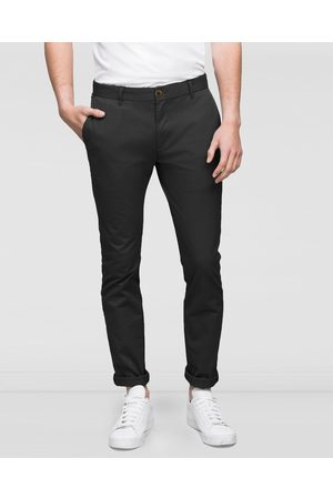 WAYVER Slim Stretch Chinos - Pants (Charcoal) Slim Stretch Chinos