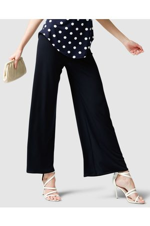 SACHA DRAKE Seamless Stretch Pants - Pants (Navy) Seamless Stretch Pants