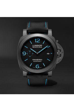 PANERAI Men Watches - Luminor Marina Automatic 44mm Carbotech and Sportech Watch, Ref. No. PAM01661