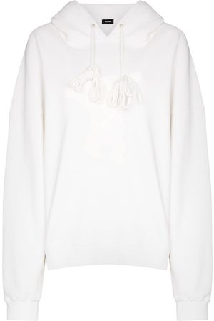 We11 Done Teddy cotton hoodie