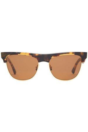 Bottega Veneta Square Tortoiseshell-acetate Sunglasses - Womens - Tortoiseshell