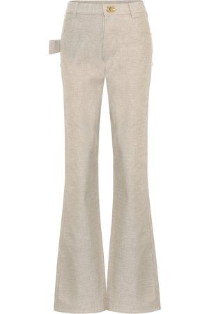 Bottega Veneta High-rise bootcut jeans