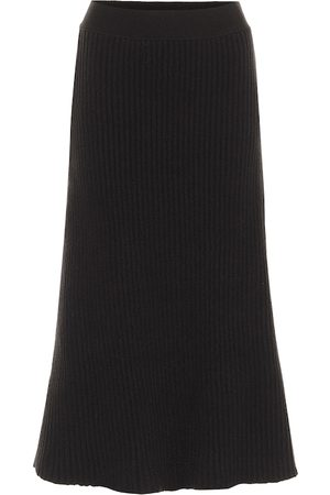 Bottega Veneta Ribbed-knit midi skirt