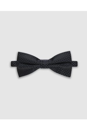 Buckle Cube Bow Tie - Ties & Cufflinks (Navy) Cube Bow Tie