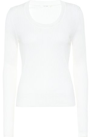 The Row Amaia wool and silk sweater