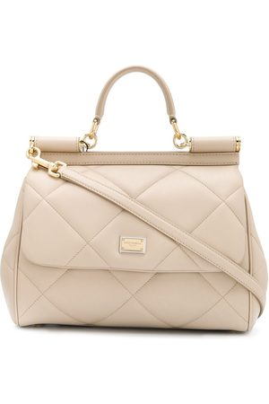 Dolce & Gabbana Women Tote Bags - Medium quilted Sicily tote