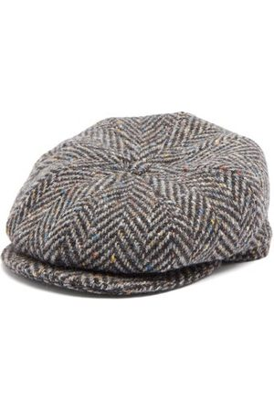 Lock & Co Hatters Men Caps - Tremelo Wool-tweed Flat Cap - Mens