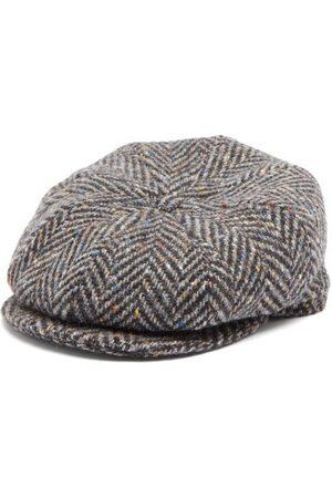 Lock & Co Hatters Tremelo Wool-tweed Flat Cap - Mens