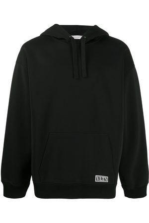 VALENTINO Men Hoodies - VLTN Tag long-sleeve hoodie