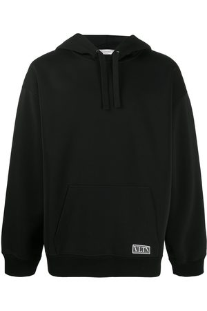 VALENTINO VLTN Tag long-sleeve hoodie
