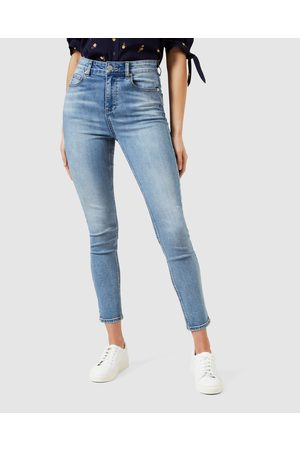 French Connection High Rise Skinny Jeans - Pants (LIGHT VINTAGE) High Rise Skinny Jeans