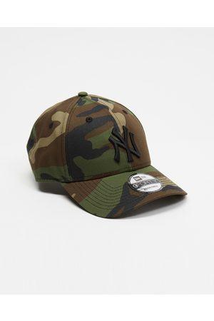 New Era Caps - 940 New York Yankees Cap - Headwear (Woodland Camo & ) 940 New York Yankees Cap