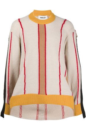 AMBUSH Deconstructed crew neck sweatshirt