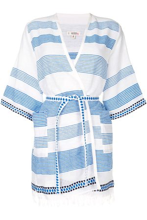 Lemlem Belted wrap beach dress