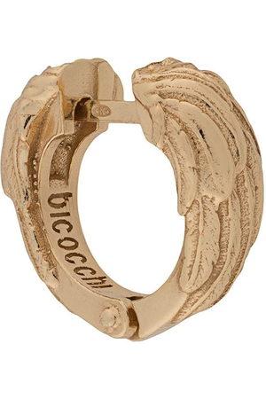 Emanuele Bicocchi Earrings - Wing textured hoop earring