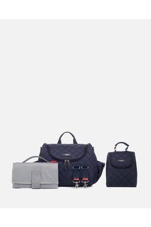 storksak Poppy Quilt Nappy Bag - Backpacks (Navy) Poppy Quilt Nappy Bag