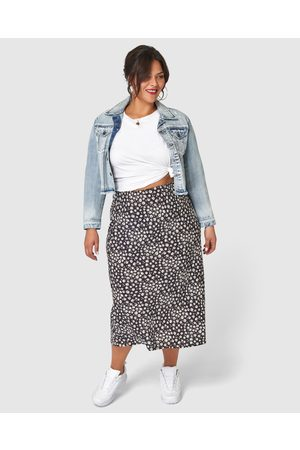 Sunday In The City Sin City Print Skirt - Pencil skirts Sin City Print Skirt
