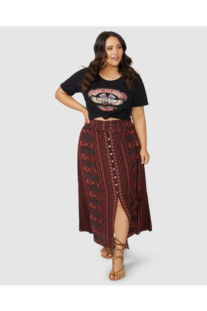 The Poetic Gypsy Love Spice Maxi Skirt - Skirts Love Spice Maxi Skirt