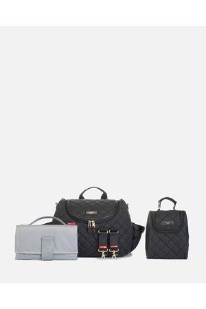 storksak Poppy Quilt Nappy Bag - Backpacks Poppy Quilt Nappy Bag