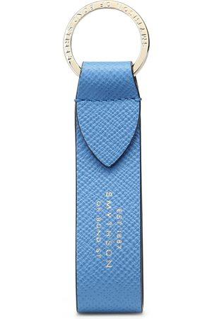 SMYTHSON Keychains - Panama Keyring with Leather Strap