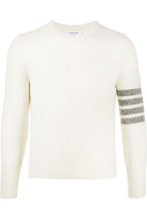 Thom Browne 4-Bar crew-neck Shetland wool jumper