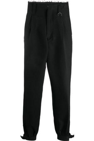 AMBUSH Raw-edge high-waisted trousers
