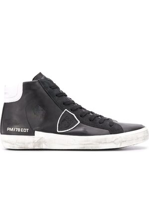 Philippe model High top zipped sneakers