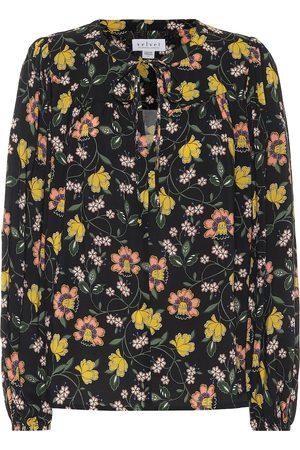Velvet Sidra floral blouse