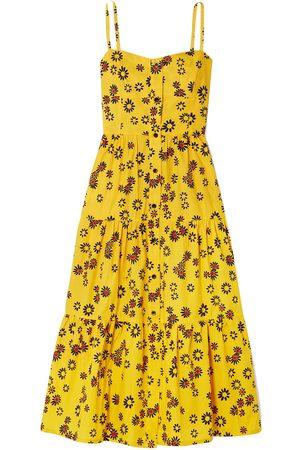 Solid Knee-length dresses