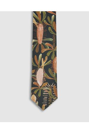 Peggy and Finn Grass Tree Tie - Ties Grass Tree Tie