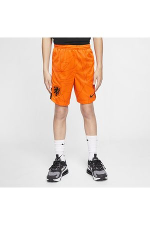 Nike Netherlands Stadium 2020 Home Older Kids' Football Shorts