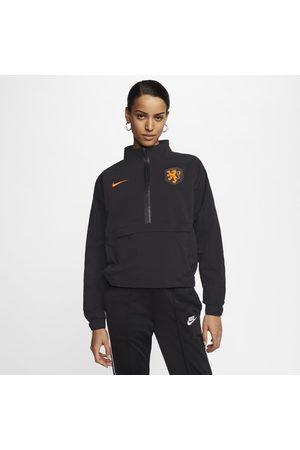 Nike Netherlands Women's 1/4-Zip Football Top