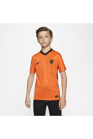 Nike Netherlands 2020 Stadium Home Older Kids' Football Shirt